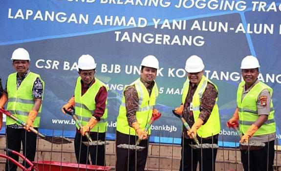 Renovasi Lapangan Ahmad Yani Tangerang Bank bjb Kucurkan ...