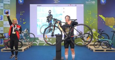 bjb Cycling DigiCash V-Ride Series 5 Semarak dan  Bertabur Hadiah